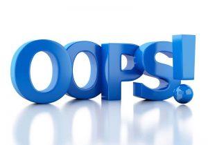 OOPS - 404